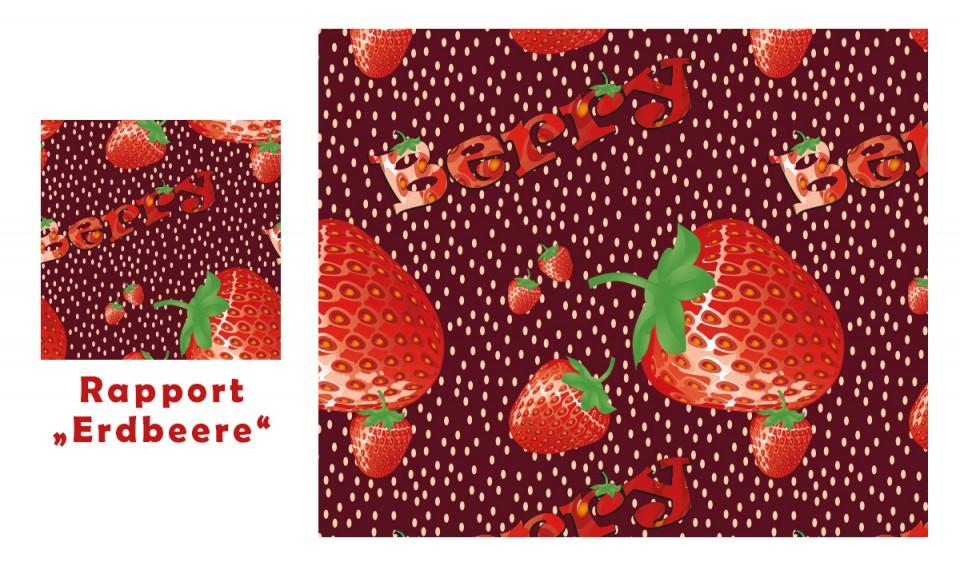 Erstellung eines Rapports – Erdbeere