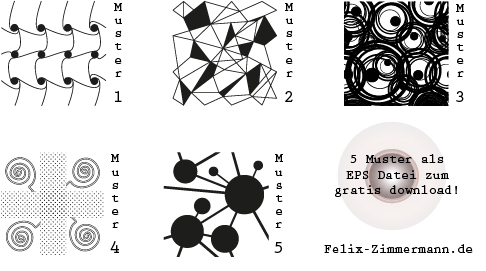 Muster und Zentangle