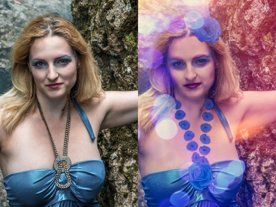 Beauty-Retusche und Märchen-Look