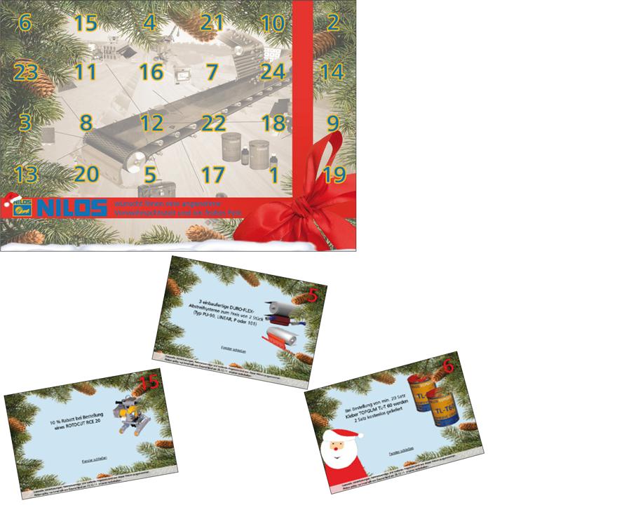 Weihnachts-Aktion – Adventskalender